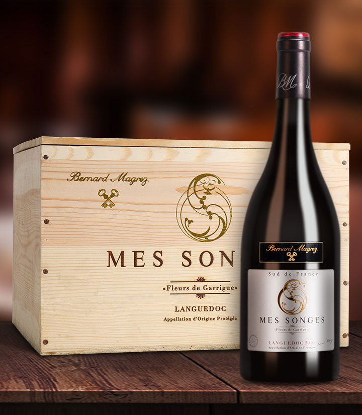 13.5°法国梦幻干红葡萄酒750ml 件