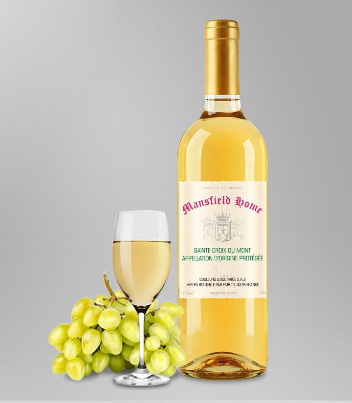 13.5°法国曼斯菲尔德家园贵腐甜白葡萄酒750ml