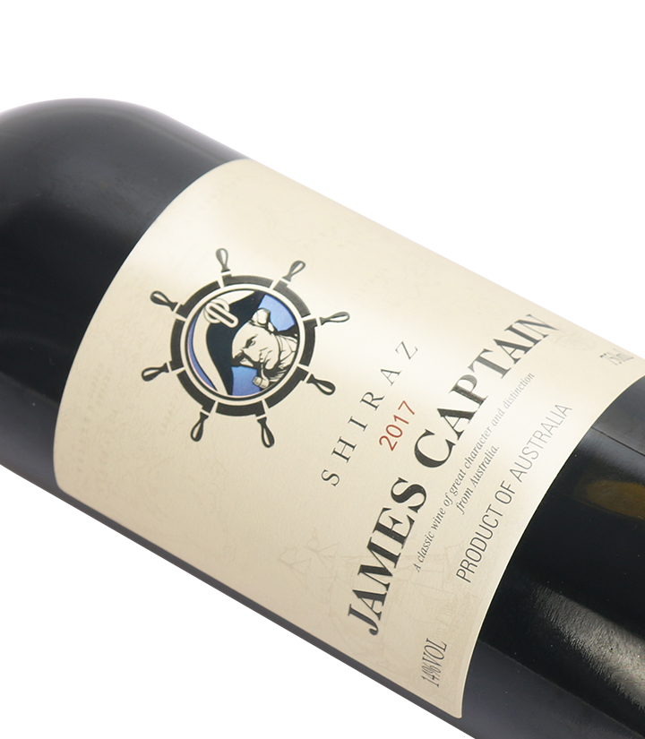 13°澳洲詹姆士船长西拉干红葡萄酒750ml 瓶