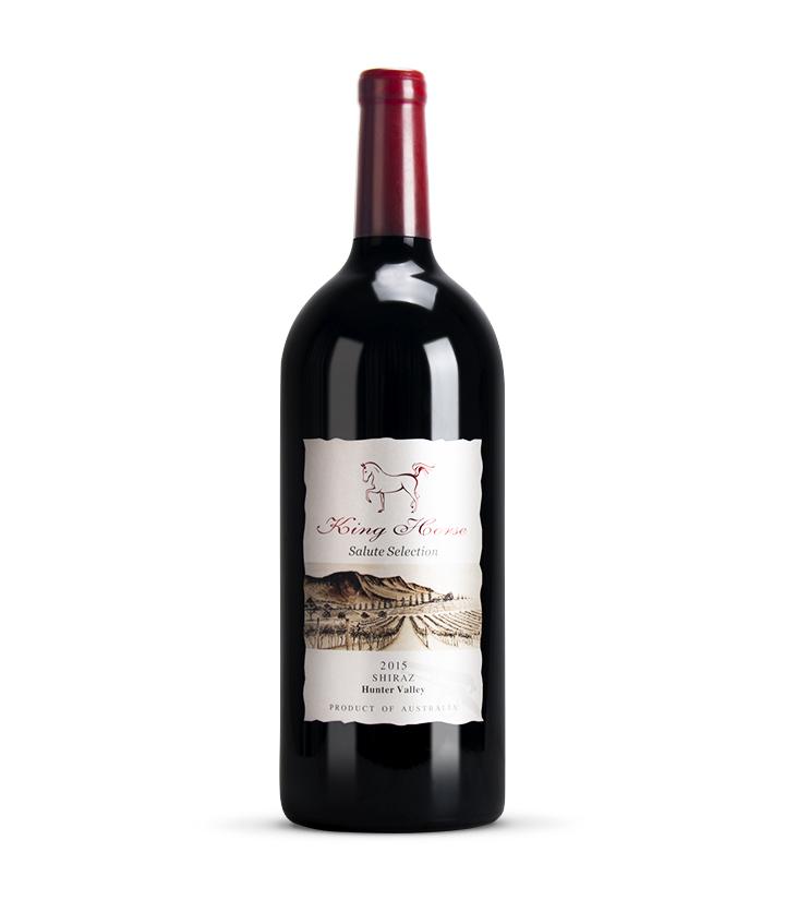 14°澳洲皇马2015礼炮干红葡萄酒3L 瓶