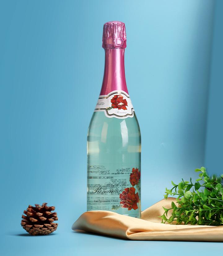 9.5°意大利玫瑰人生甜型起泡葡萄酒750ml 瓶