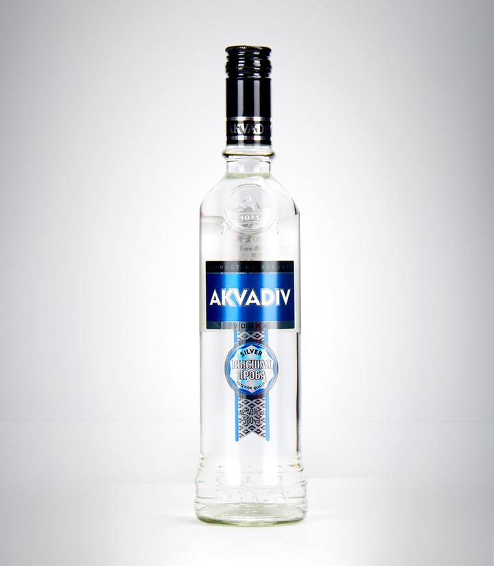 白俄罗斯阿克瓦蒂夫铂金牌伏特加500ml 瓶