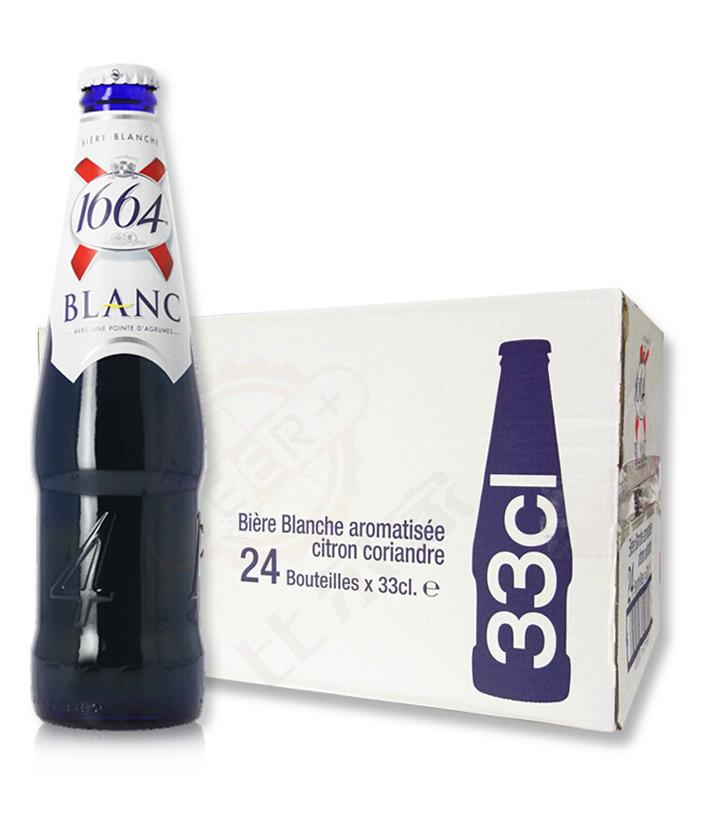 法国克伦堡1664啤酒330ml 瓶