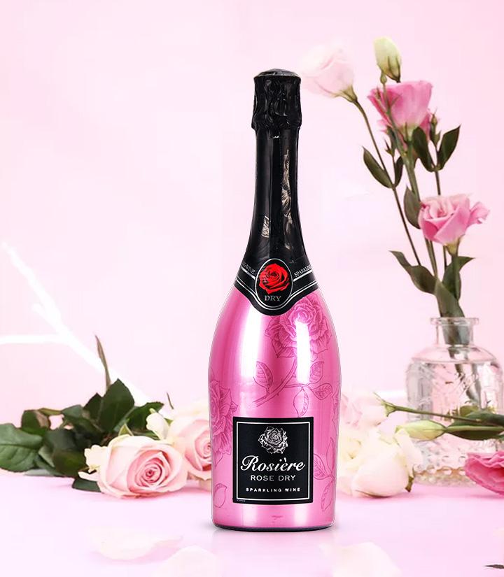 11.5°法国玫瑰桃红起泡葡萄酒750ml 件