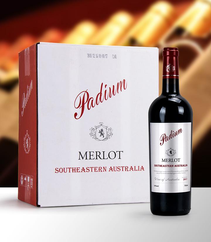 14°澳洲奔鼎美露干红葡萄酒750ml 件