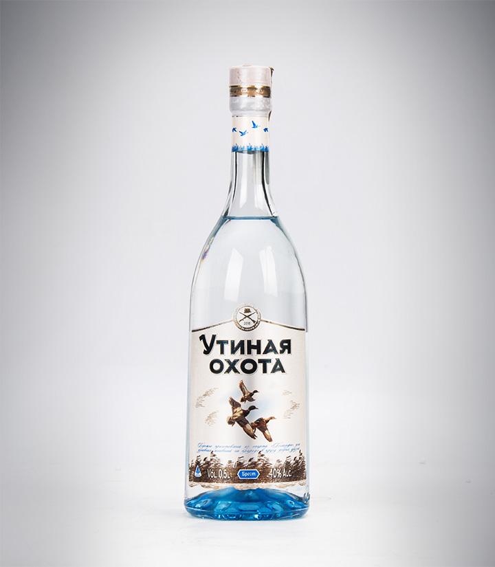 白俄罗斯纳力铂奇猎鸭伏特加500ml 瓶