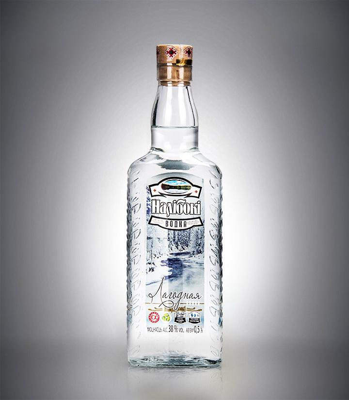 白俄罗斯纳力铂奇拉多加湖伏特加500ml 瓶