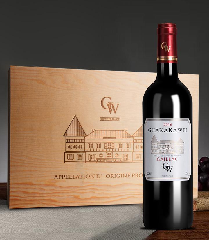 12.5°法国加拿卡威干红葡萄酒750ml 瓶