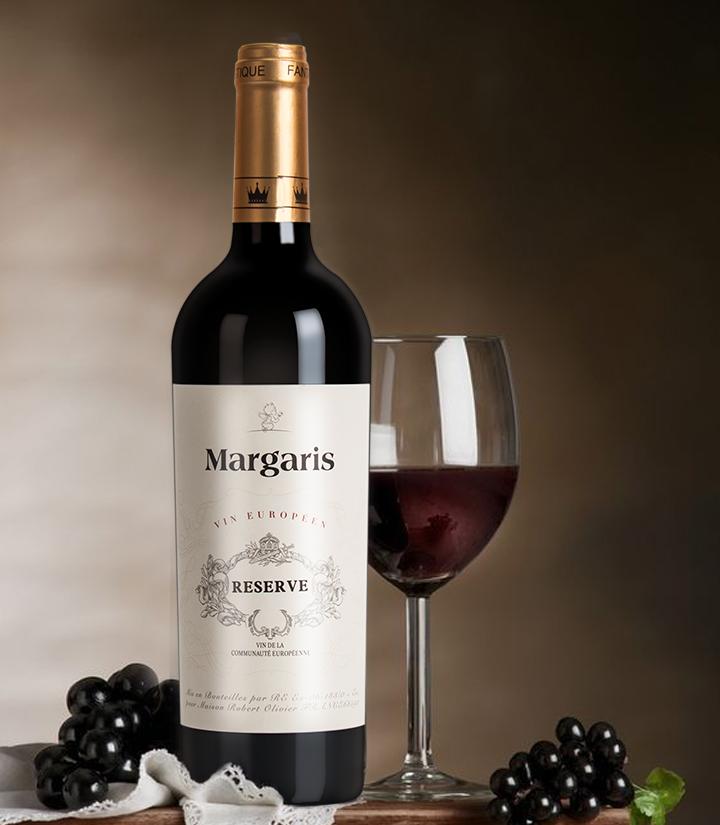 14°法国玛格丽思干红葡萄酒750ml 瓶