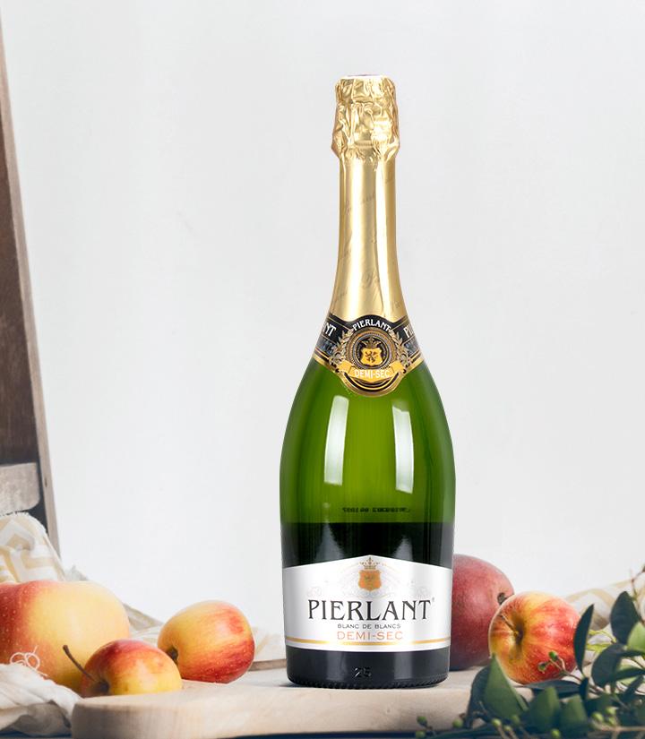 10.5°法国玫瑰半干白起泡葡萄酒750ml 件
