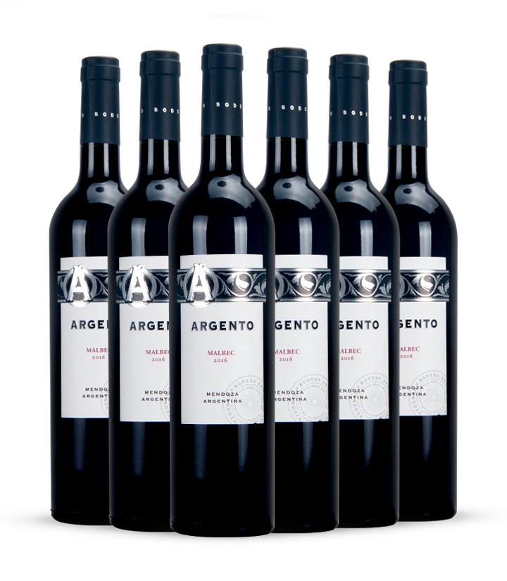 13°阿根廷银谷马尔贝克干红葡萄酒750ml 瓶