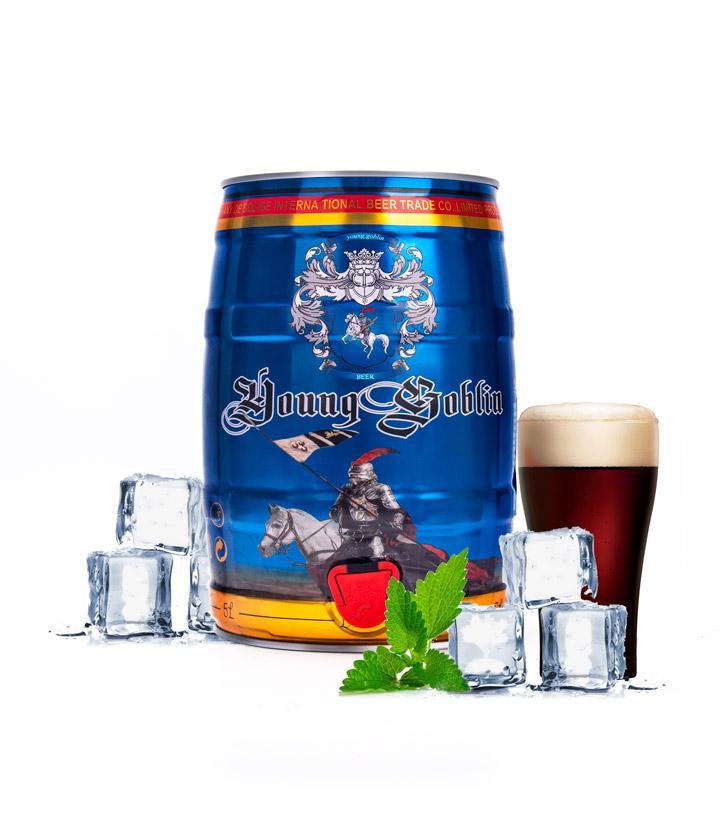德国德柏斯格黑啤酒5L 瓶
