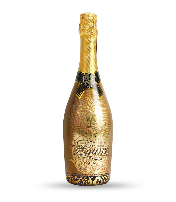 6°意大利万多金灿低醇起泡白葡萄酒750ml 瓶