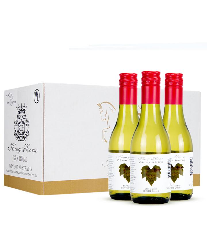 8.5°澳洲皇马小公主白葡萄酒187ml 件